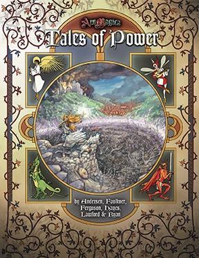 Atlas games Ars Magica RPG: Tales of Power paperback