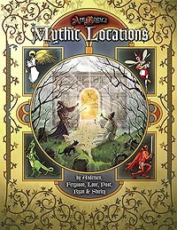 Atlas games Ars Magica RPG: Mythic Locations Hardcover
