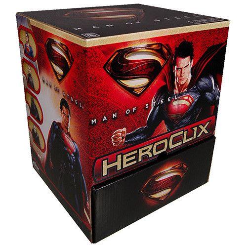 Wizkids DC Heroclix: Man of Steel Gravity Feed Booster