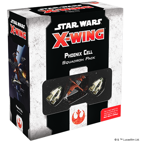 Fantasy Flight Star Wars X-Wing: Phoenix Cell Squadron Pack