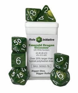 Role 4 initative Role 4 Initiative Dice: Shimmer (7) Emerald Dragon