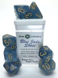 Role 4 initative Role 4 Initiative Dice: Jade (7) Blue Jade Shoe