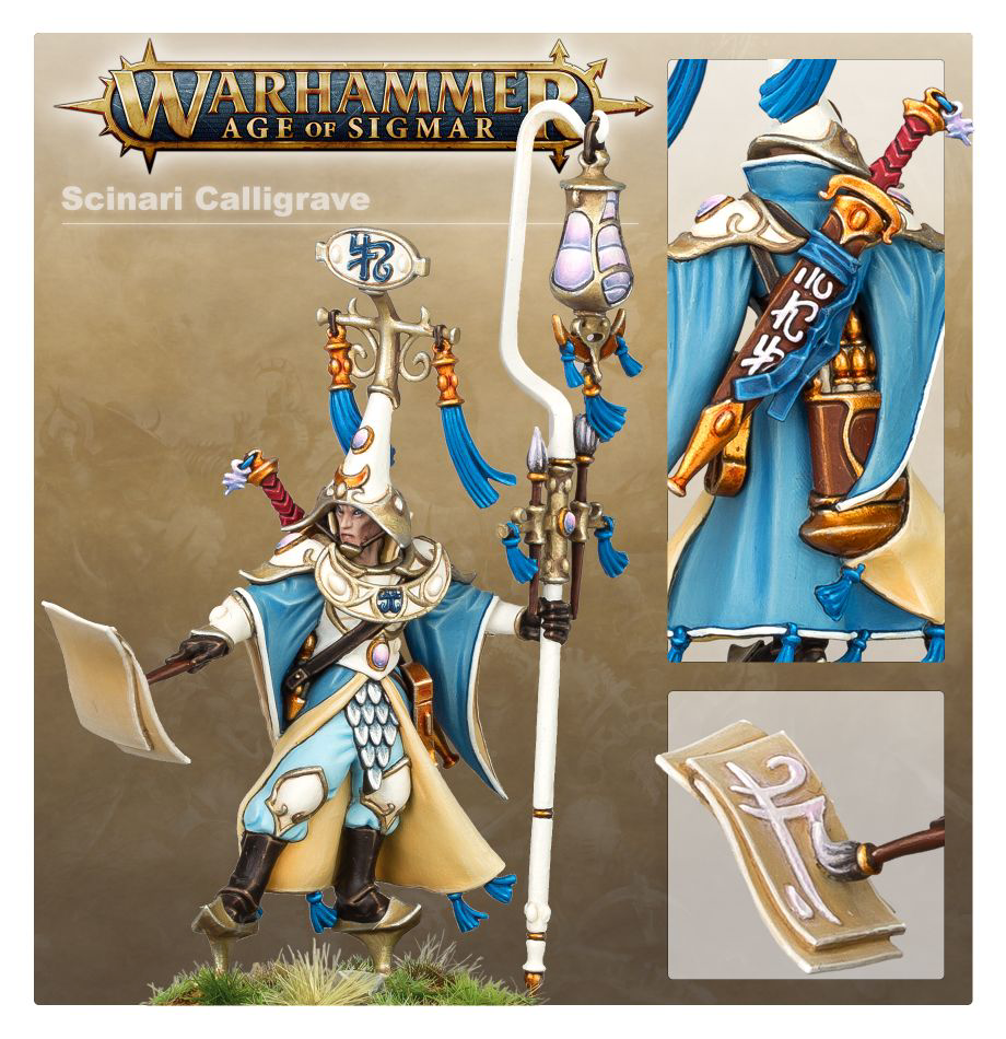 Games Workshop Warhammer Sigmar: Lumineth Realm Lords- Scinari Loreseeker