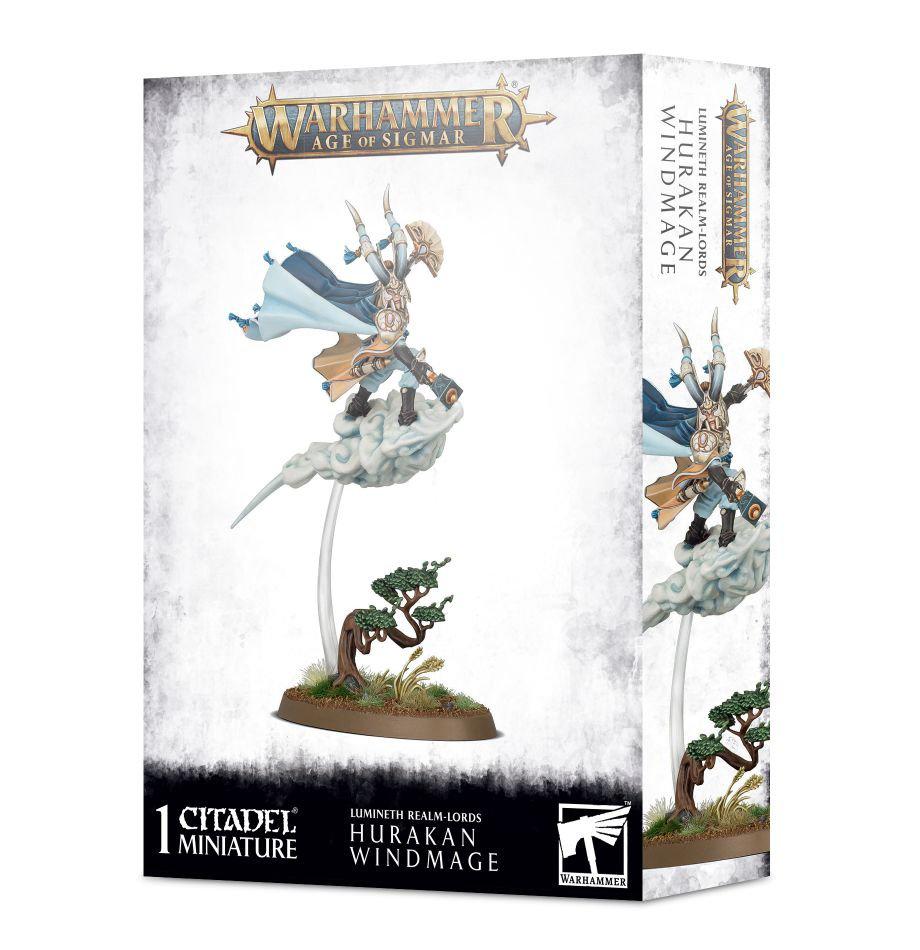 Games Workshop Warhammer Sigmar: Lumineth Realm Lords- Hurakan Windmage