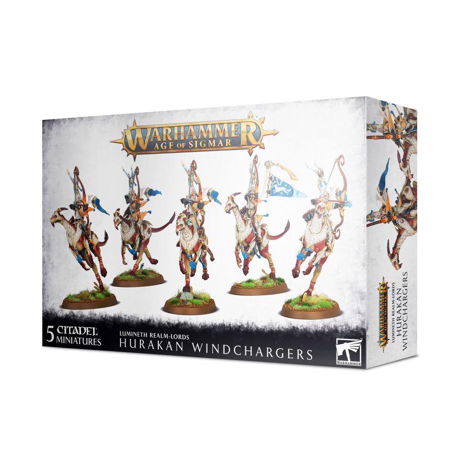 Games Workshop Warhammer Sigmar: Lumineth Realm Lords- Hurakan Windchargers