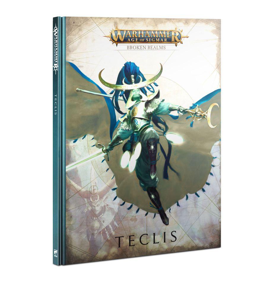 Games Workshop Warhammer Sigmar: Broken Realm- Teclis book