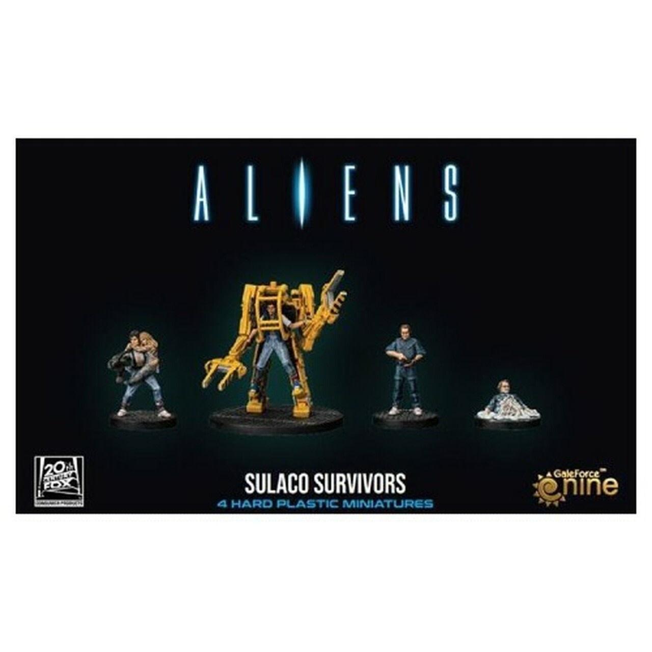 Gale Force Nine Aliens: Sulaco Survivors