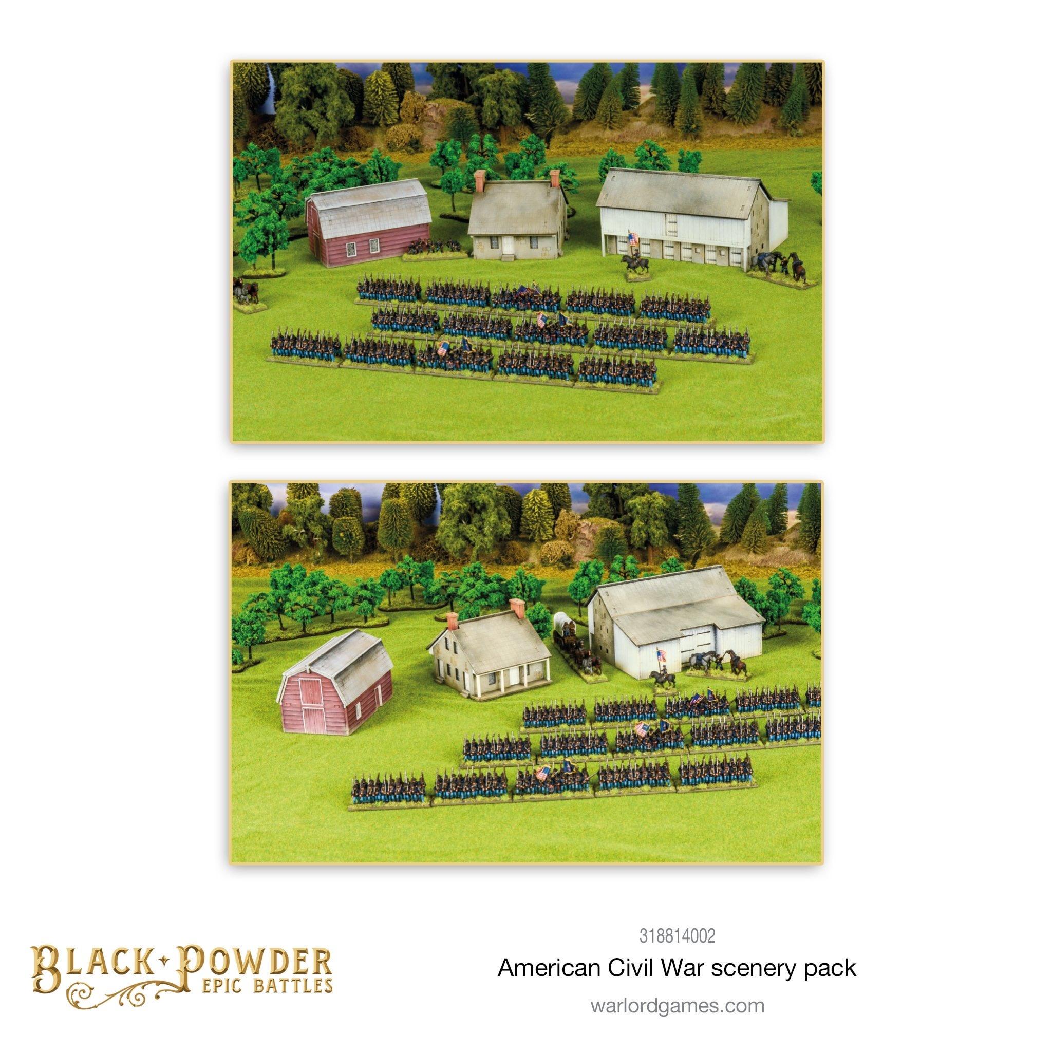 Black Powder Black Powder: American Civil War Scenery Pack