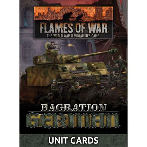 Flames of War Flames of War Unit Cards: German Bagration