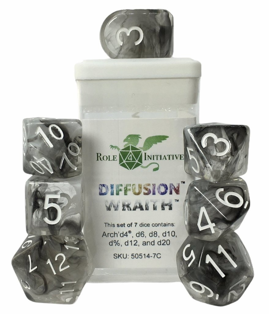 Role 4 iniative Role 4 Initiative Dice: Diffusion (7 arch D4) Wraith
