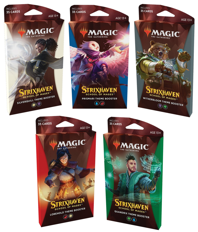 Magic the Gathering Magic the Gathering CCG: Strixhaven Theme booster