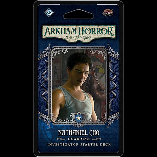 Fantasy Flight Arkham Horror LCG: Nathaniel Cho Investigator
