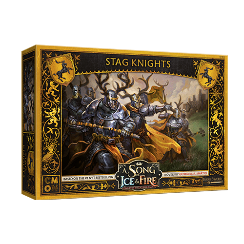 CMON A song of Ice & Fire: Baratheon Stag Knights