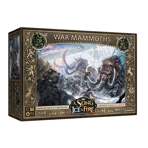 CMON A Song of Ice & Fire: Free Folk War Mommoths