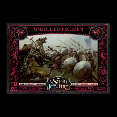 CMON A song of Ice & Fire: Targaryen Unsullied Pikemen