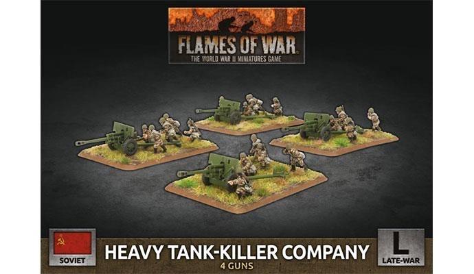 Flames of War Flames of War: Soviet- Heavy Tank-Killer Company (late)