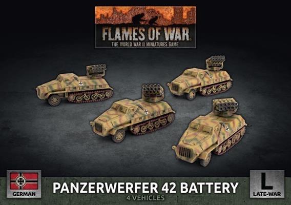 Flames of War Flames of War: German- Panzerwerfer 42 Battery (late)