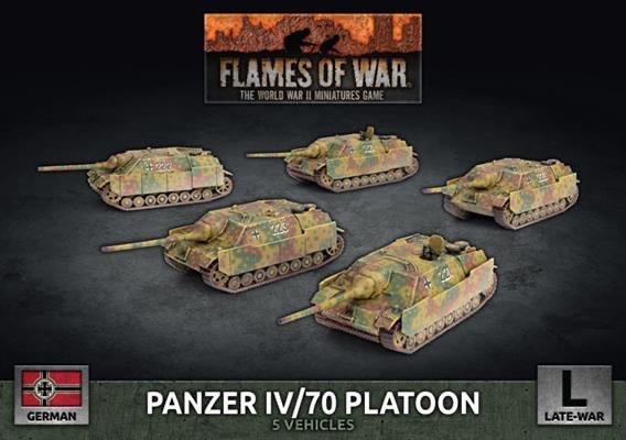 Flames of War Flames of War: German- Panzer IV/70 Platoon (late)