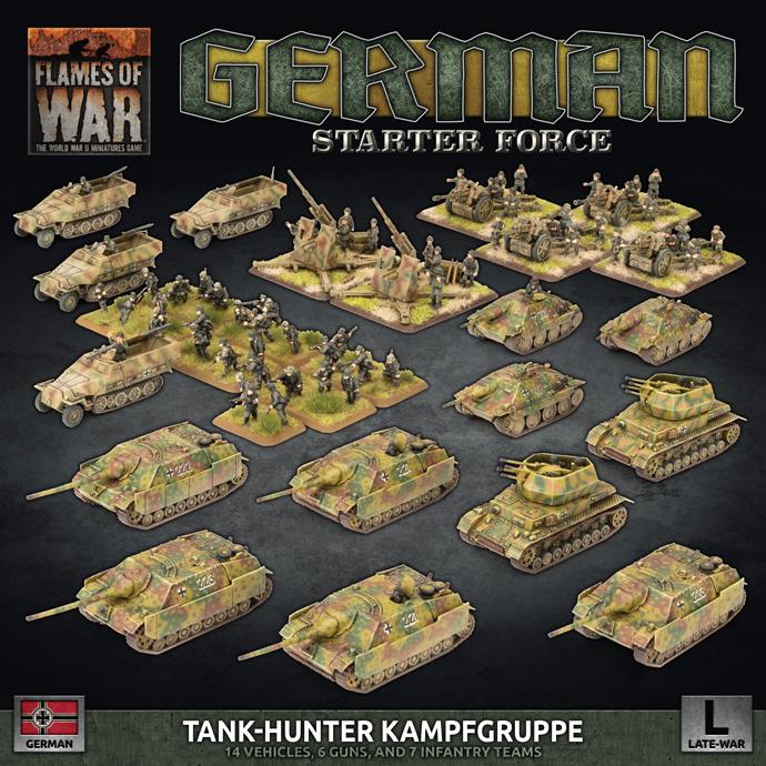 Flames of War Flames of War: German- Tank Hunter Kampfgruppe (late)