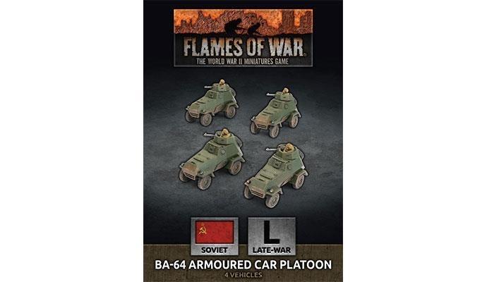 Flames of War Flames of War: Soviet- BA-64 Armoured Car Platoon