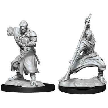 Wizkids D&D Nolzurs Miniature: Warforged Monk