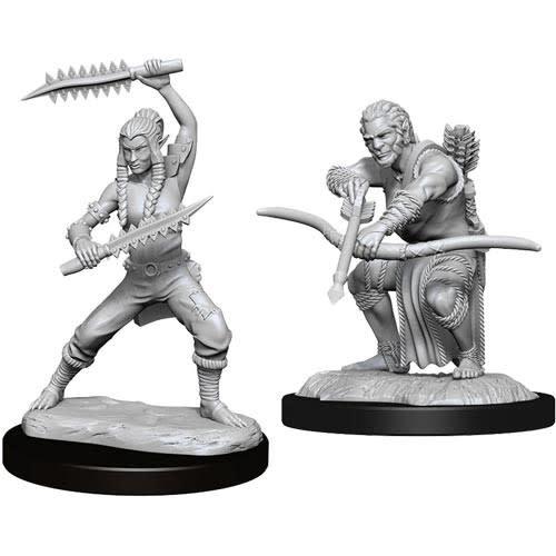 Wizkids D&D  Nolzurs Miniature: Shifter Wildhunt Ranger Male
