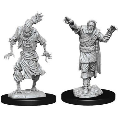 Wizkids D&D Nolzurs Miniature: Scarecrow & Stone Cursed