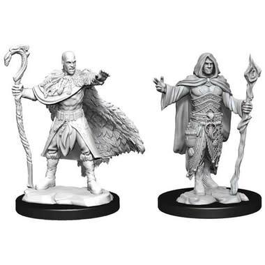 Wizkids D&D Nolzurs Miniature: Human Druid Male