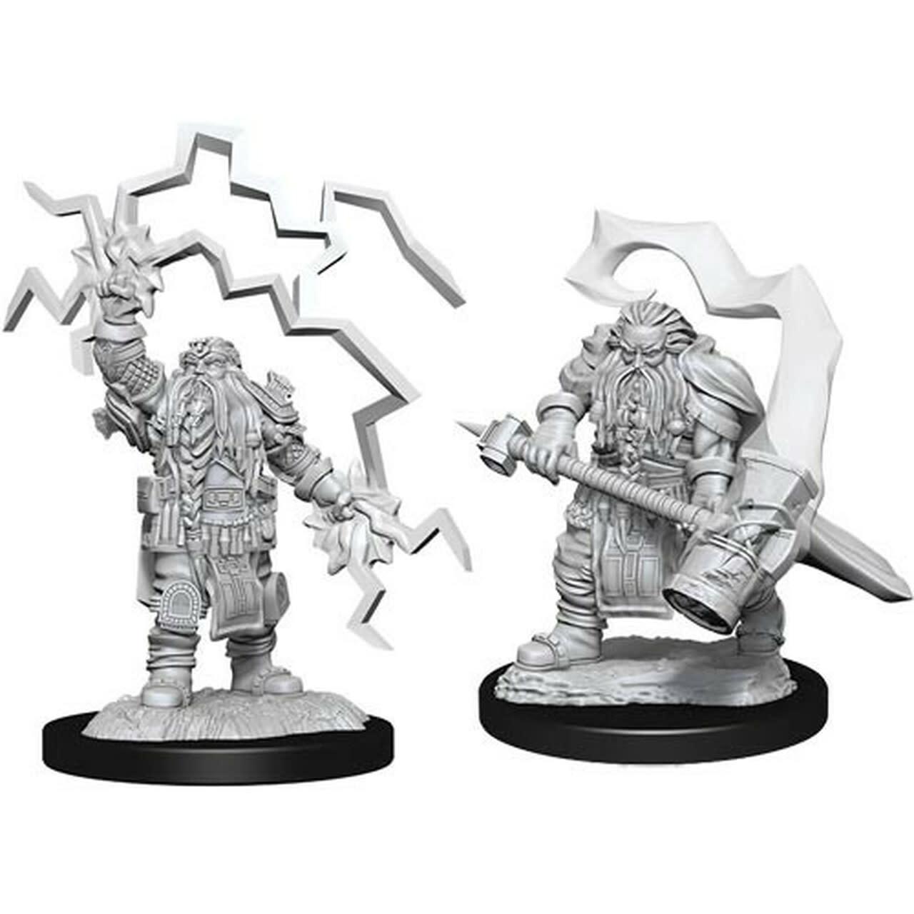 Wizkids D&D Nolzurs  Miniature:  Dwarf Cleric Male