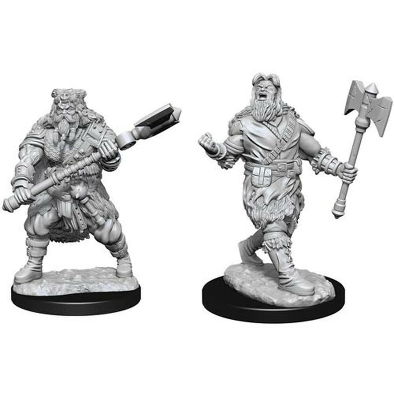 Wizkids D&D Nolzurs Miniature: Human Barbarian Male