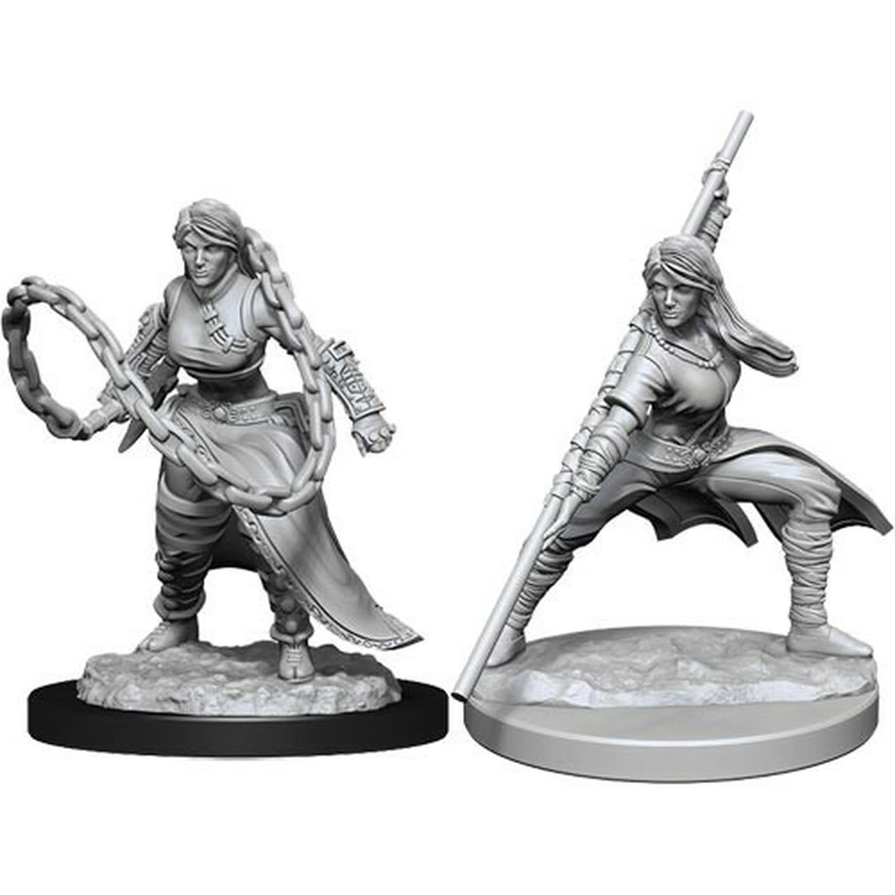 Wizkids D&D Nolzurs Miniatures: Human Monk Female