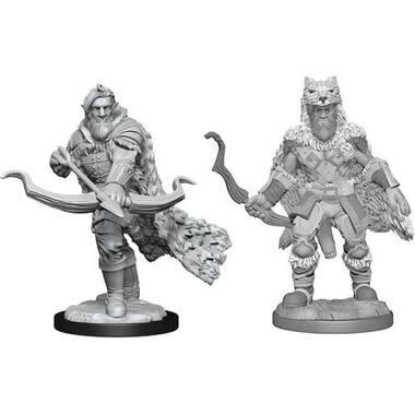 Wizkids D&D Nolzurs Miniature: Firbolg Ranger Male