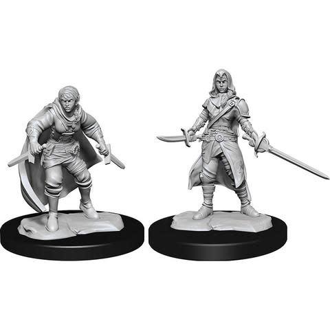 Wizkids D&D Nolzurs Miniatures: Half Elf Rogue Female