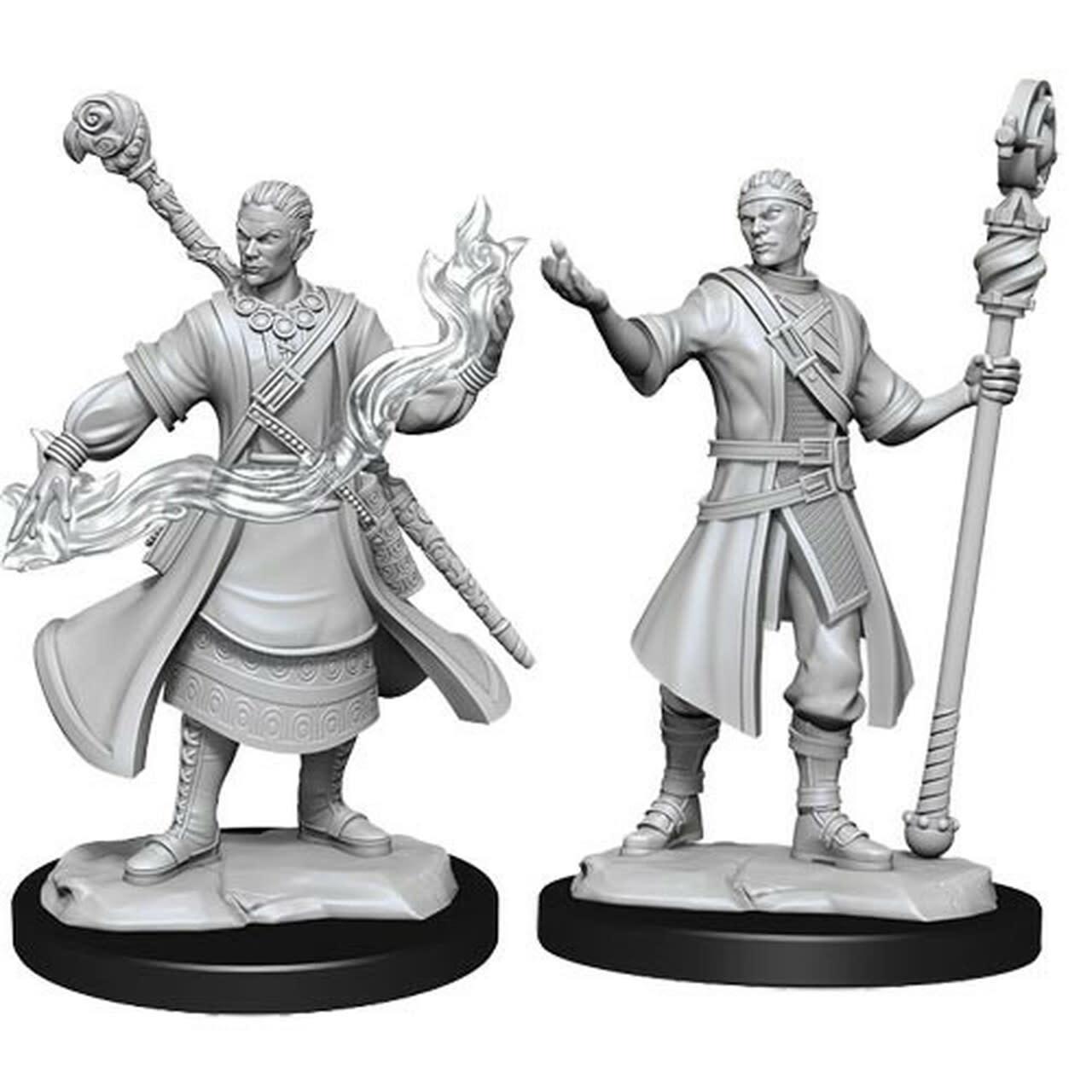 Wizkids D&D Nolzurs Miniature: Half-Elf Wizard Male