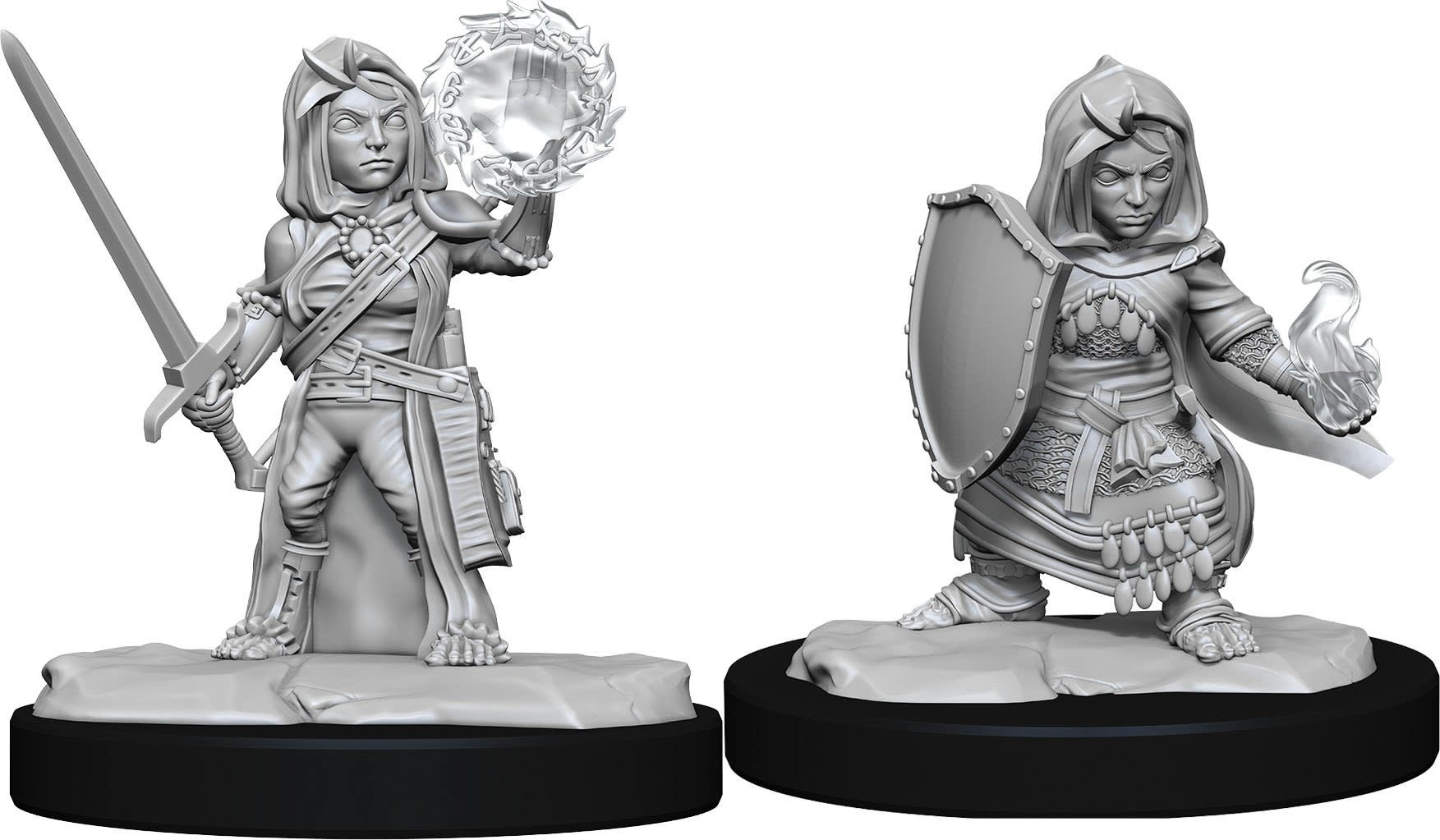 Wizkids Pathfinder Miniature: Halfling Cleric Female