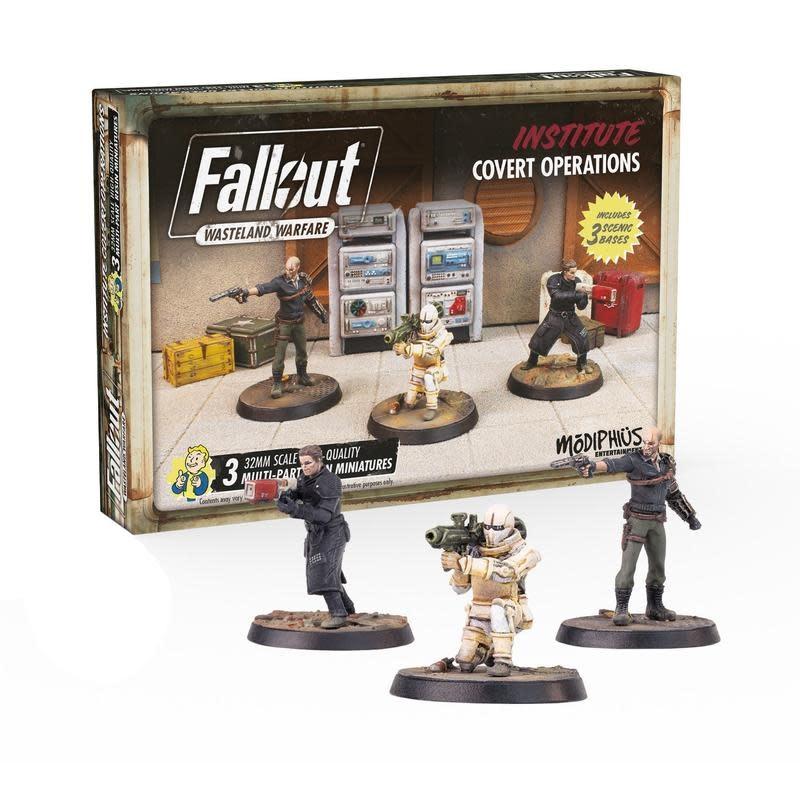 Modiphius Fallout Wasteland Warfare: Institute- Covert Operations