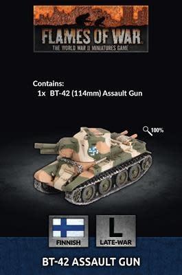 Flames of War Flames of War: Finnish- BT-42 Assault Gun