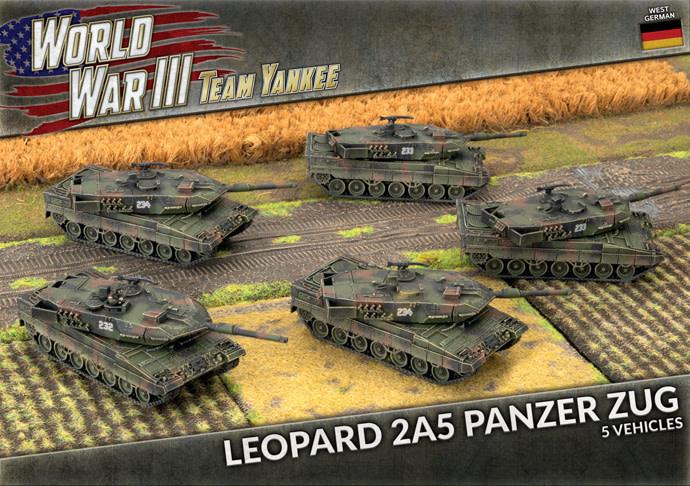 Team yankee Team Yankee: German- Leopard 2A5 Panzer Zug