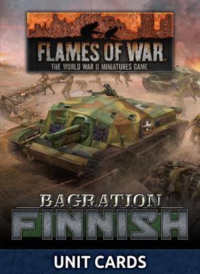 Flames of War Flames of War Unit Cards: Bagration Finnish