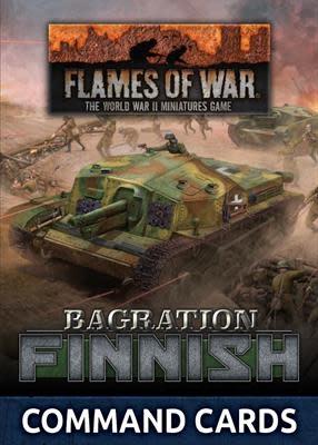 Flames of War Flames of War Command Cards: Bagration Finnish