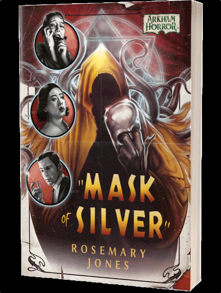 Aconytebooks Arkham Horror NOVEL: Mask of Silver