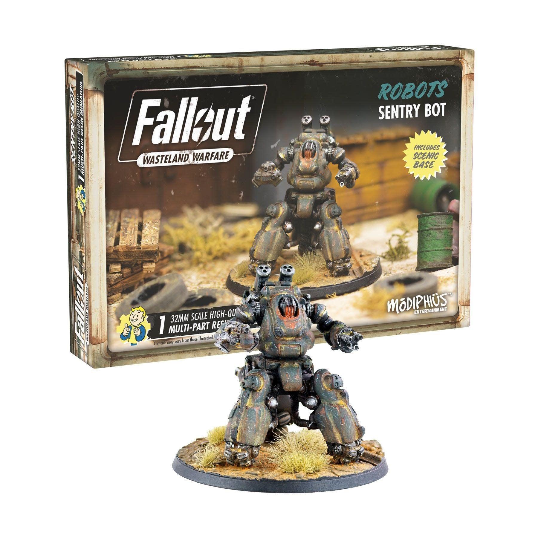 Modiphius Fallout Wasteland Warfare: Robots- Sentry Bot