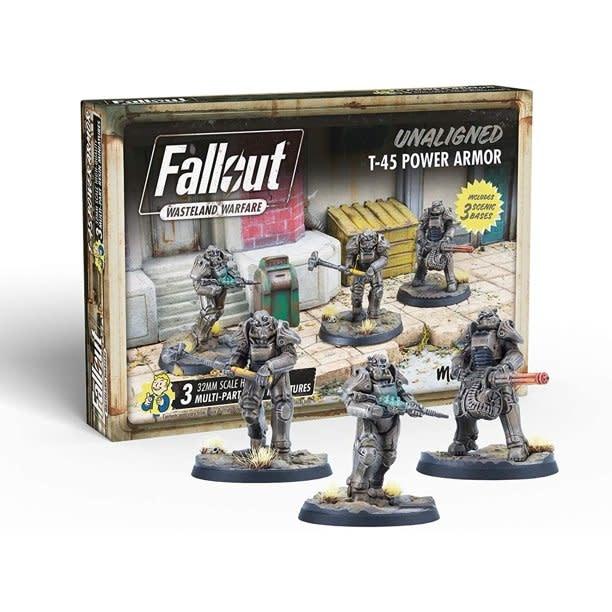 Modiphius Fallout Wasteland Warfare: Unaligned T-51 Power Armor
