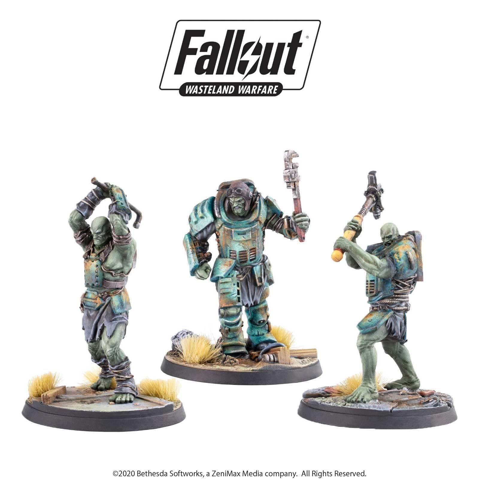 Modiphius Fallout Wasteland Warfare: Super Mutants- Skirmishers