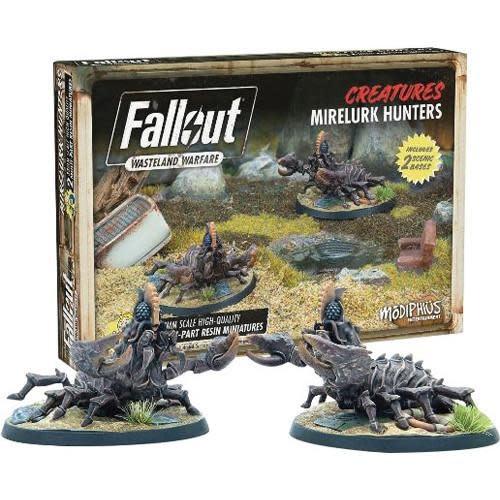Modiphius Fallout Wasteland Warfare: Creature- Mirelurk Hunters