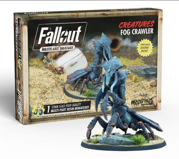 Modiphius Fallout Wasteland Warfare: Creatures- Fog Crawler