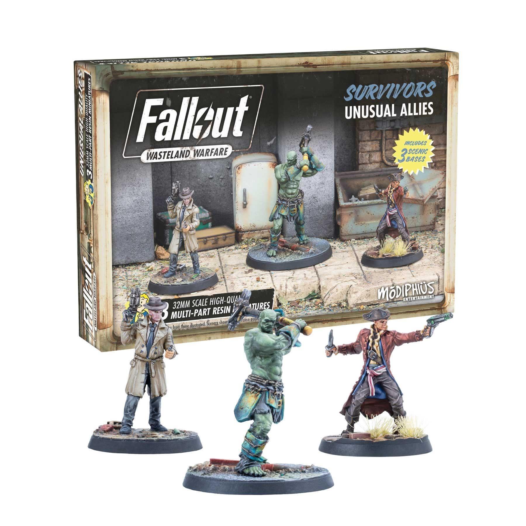 Modiphius Fallout Wasteland Warfare: Survivors- Unusual Allies
