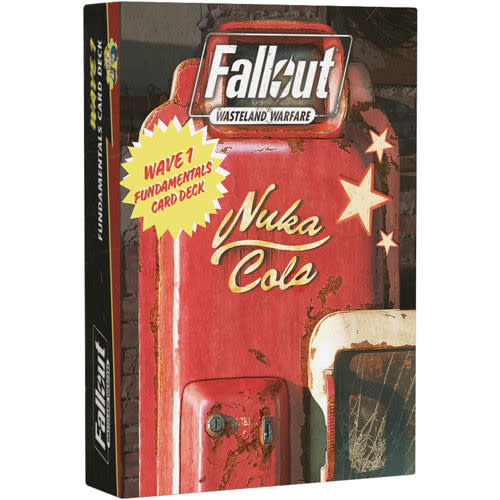 Modiphius Fallout Wasteland Warfare: Wave 1 Fundamentals cards