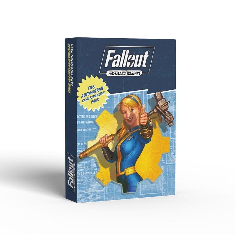 Modiphius Fallout Wasteland Warfare: Automatron Cards