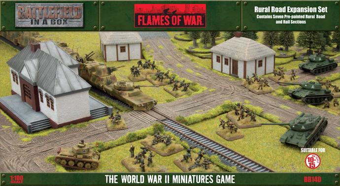 Battlefield in a Box Battlefield in a Box: Rural Road Expansion Set